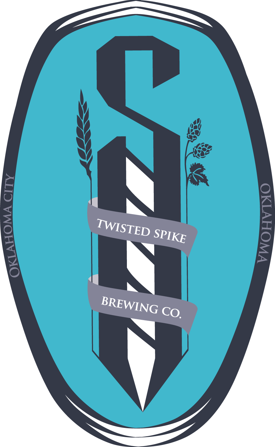 Twisted Spike Brewing Co. Logo
